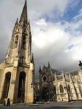 Catedral de Burdeos, Francia Imagen de archivo libre de regalías