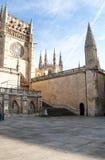 Catedral de Burgos Imágenes de archivo libres de regalías
