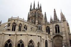 Catedral de Burgos Fotografía de archivo