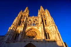 Catedral de Burgos Foto de Stock Royalty Free