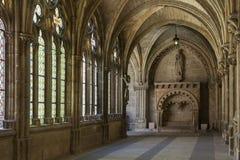 A catedral de Burgos enclausura - Burgos - Spain Fotos de Stock Royalty Free