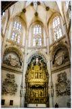 Catedral de Burgos, España fotografía de archivo libre de regalías