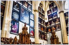 Catedral de Burgos, España fotos de archivo libres de regalías