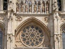 Catedral De Burgos (Espagne) Image libre de droits
