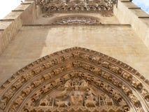Catedral de Burgos (Hiszpania) zdjęcia stock