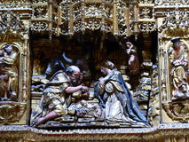 Catedral de Burgos ( Spain ) Royalty Free Stock Images