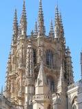 Catedral De Burgos (Spanien) Stockbild