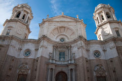 Catedral de Cádiz Fotografía de archivo