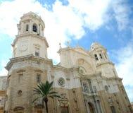 Catedral de Cádiz Imágenes de archivo libres de regalías