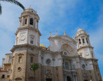 Catedral de Cádiz Fotos de archivo libres de regalías