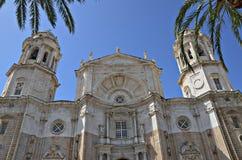 Catedral de Cádiz en España Imágenes de archivo libres de regalías