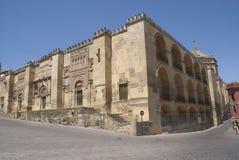 Catedral de Córdova, a Andaluzia, Espanha fotos de stock royalty free