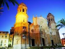 Catedral de Cadiz andalusia spain fotografia de stock royalty free