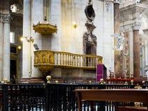 Catedral de Cadiz La Catedral Vieja, Iglesia de Santa Cruz A Andaluzia, Espanha Imagens de Stock