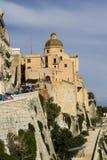 A catedral de Cagliari - Sardinia Foto de Stock Royalty Free