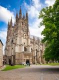Catedral de Canterbury em Canterbury Kent Southern England Reino Unido fotos de stock