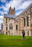Catedral de Canterbury em Canterbury Kent Southern England Reino Unido imagem de stock