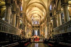 Catedral de Cantorbery, Kent, Reino Unido Imagen de archivo libre de regalías