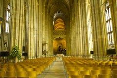 Catedral de Cantorbery, Reino Unido Foto de archivo libre de regalías