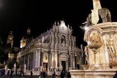 Catedral de Catania Fotografia de Stock