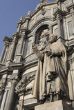Catedral de Catania (Duomo) Fotografía de archivo