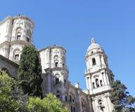 Catedral de Catolic com folha natural foto de stock royalty free
