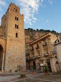 Catedral de Cefalù foto de stock