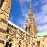 Catedral de Chicester Fotos de archivo libres de regalías