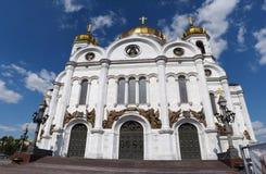Catedral de christ o salvador imagens de stock