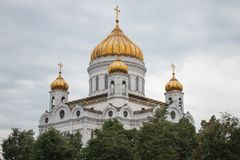 A catedral de Christ o salvador Foto de Stock