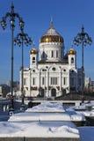A catedral de Christ o salvador, Moscovo foto de stock royalty free