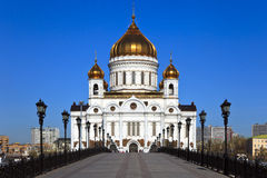 A catedral de Christ o salvador, Moscovo fotos de stock royalty free