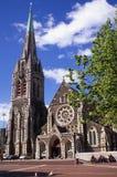 Catedral de Christchurch imagens de stock