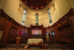Catedral de Christchurch antes del terremoto imagen de archivo