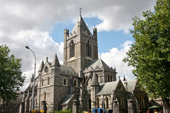 Catedral de Christchurch, Dublin, Irlanda foto de stock royalty free