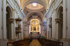 Catedral de Civita Imagen de archivo