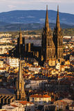 Catedral de Clermont-Ferrand Fotografía de archivo
