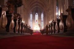 Catedral de Cluj Napoca imagen de archivo