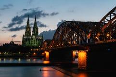Catedral de Colónia Foto de Stock Royalty Free