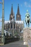 Catedral de Colegne Fotos de archivo