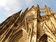 Catedral de Colonia Imagen de archivo libre de regalías