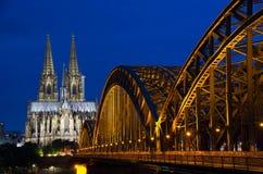 Catedral de Colonia Imagenes de archivo