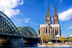 Catedral de Colonia fotografía de archivo