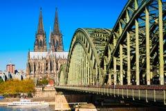 Catedral de Colonia en Colonia Alemania foto de archivo libre de regalías