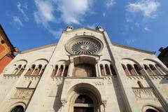 Catedral de Como Foto de archivo libre de regalías