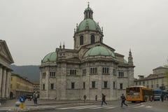 Catedral de Como, Italia foto de archivo libre de regalías