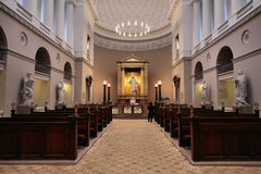 Catedral de Copenhague foto de archivo