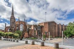 Catedral de Coventry Imagem de Stock
