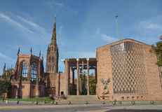 Catedral de Coventry Fotografia de Stock Royalty Free