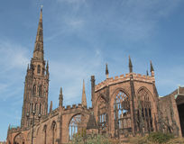 Catedral de Coventry Fotos de Stock Royalty Free